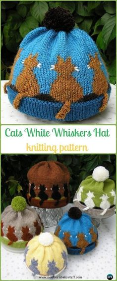 Child Knitting Patterns Child Knitting Patterns Knit Cat White Whiskers Hat Paid Sample - Enjoyable Kitty Cat Hat... Baby Knitting Patterns Supply : Baby Knitting Patterns Knit Cat White Whiskers Hat Paid Pattern - Fun Kitty