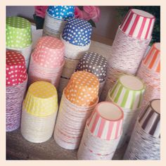 Only way we could love these more is if they were FULL! [Cute party supply store!]