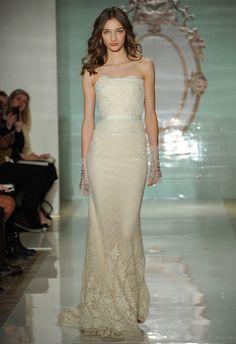 Reem Acra Spring 2015   Bridal Fashion Week #wedding #weddingdream123