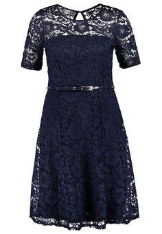 Sukienka letnia - navy blue - Zalando.pl