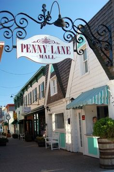 Penny Lane in Rehoboth Beach, Delaware is a great spot for unique tax-free shopping!