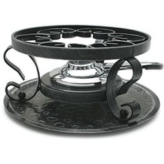 Swissmar Wrought Iron Rechaud with Fondue Burner * More info could be found at the image url. (Amazon affiliate link)