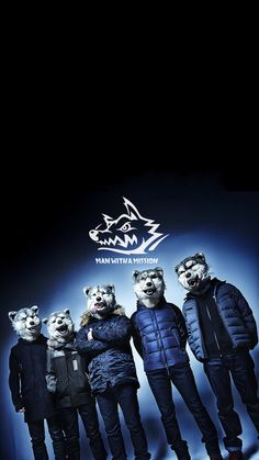 MAN WITH A MISSION/マンウィズ[04]iPhone壁紙 iPhone 7/7 PLUS/6/6PLUS/6S/ 6S PLUS/SE Wallpaper Background
