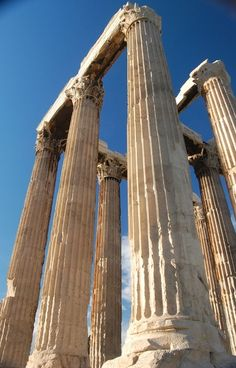 Columns of the Temple of Olympian Zeus.  Standing there looking up made me feel 2 feet tall! M. Hawkes
