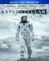 Interstellar (2014)   An exploration of physicist Kip Thorne's theories of gravity fields, wormholes and several hypotheses that Albert Einstein was never able to prove.  Starring: Matthew McConaughey, Anne Hathaway, Jessica Chastain, Michael Caine, Bill Irwin, Mackenzie Foy Director: Christopher Nolan  #Interstellar #Bluray #ChristopherNolan