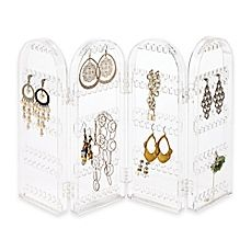 image of 4-Section Folding Earring Holder