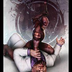Action Art: Daredevil VS Kingpin