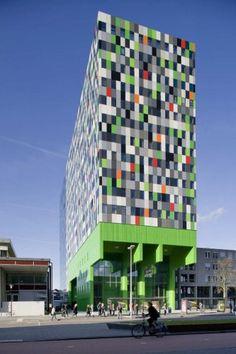 380 Student Units in Utrecht by Architectenbureau Marlies Rohmer