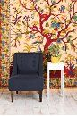 Tree of Life Leopard Tree Tapestry