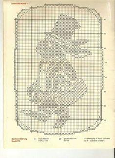 Filet Crochet, Crochet Doily Diagram, Crochet Chart, Crochet Doilies, Crochet Hooks, Cross Stitch Freebies, Cross Stitch Cards, Cross Stitch Animals, Cross Stitching