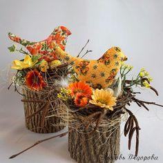 Handmade Home Decor Bird Crafts, Diy And Crafts, Spring Crafts, Holiday Crafts, Easter Egg Crafts, Newspaper Crafts, Diy Easter Decorations, Handmade Home Decor, Easter Baskets