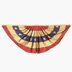 Valley Forge Heritage Series Antiqued  3-Foot x 6-Foot Striped Full Fan Bunting by Valley Forge, http://www.amazon.com/dp/B0000BVR3K/ref=cm_sw_r_pi_dp_isaRrb0NKDAJW