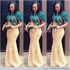 Nigerian Wedding ore iyawo aso ebi styles8