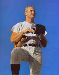 Mickey Mantle - (National Baseball Hall of Fame Library) Baseball Live, Baseball Park, Nationals Baseball, Sports Baseball, Baseball Players, Baseball Stuff, Baseball Tickets, Baseball Scores, Baseball League