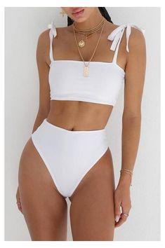 2020 New Supportive Swimwear For Big Busts Skimpy Bathing Suits Yellow One Piece Swimsuit Swimwear For Older Women – cantellm Bikini Fitness, Bikini Workout, Cute Bikinis, Cute Swimsuits, Summer Bikinis, Girls In Bikinis, Halter Swimsuits, Trendy Swimwear, Women Swimsuits