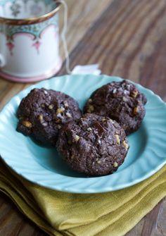 #Recipe: Dark Chocolate Walnut Cookies Recipes from The Kitchn