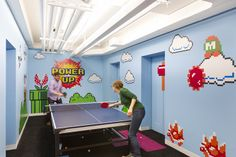 Sala de jogos 8-bits da Shutterstock