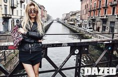 "Wonder Girls' Yubin Shows Her Punk Rock Look in ""Dazed"" Magazine Rocker Look, Rocker Chic, Yubin Wonder Girl, Wonder Girls Members, Star Fashion, Girl Crushes, Kpop Girls, Editorial Fashion, That Look"