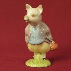 Beswick Beatrix Potter Pigling Bland
