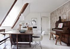 <p>Welcome to Rebecca Uth's gorgeous home in Copenhagen. When she found this charming home built in the mid 1800s, she wanted to emphasise the history and soul rather than get a newly built apar
