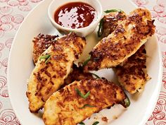 Pan-frying is an easy way to get crispy crusts on chicken breasts and tenders without unhealthy frying. You can use almost any combination of ingredients for pan-fried chicken. Keep this simple strategy in mind: Dip chicken in buttermilk to add a tangy flavor, and coat it with flour and nuts or other tasty breading ingredients. Then pan-fry it in a sensible amount of heart-healthy oil to create a crisp exterior.  Kids love the sweetness that the coconut adds to the coating of these Coconut…