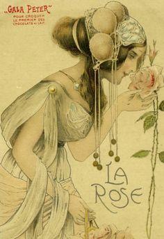 Illustration by Fernand Toussaint (1873-1955)