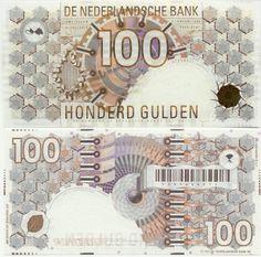 1992 - 100 gulden - Jaap Drupsteen - Steenuil
