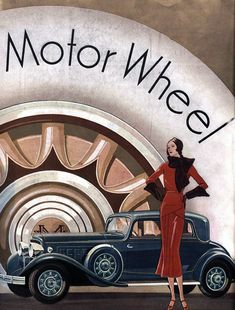 This piece of art work is a picture of a women in front of her car by a motor wheel building. This piece depicts the 1920s really well by showing how women began to dress in a more luxurious way and began to be more independent. This is significant to the time in the 1920 because it shows how the times are challenging and seem to be getting better