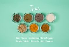 Seasoning Combinations for Your Favorite Cuisines Healthy Coconut Shrimp, Coconut Shrimp Recipes, Thai Recipes, Korean Recipes, Chicken Recipes, Thai Seasoning, Seasoning Mixes, List Of Spices, Spices And Herbs