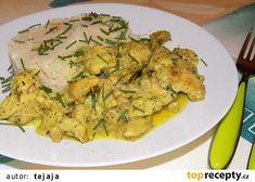 Kuřecí s Nivou a kuskusem recept - TopRecepty.cz Paleo, Meat, Chicken, Food, Essen, Beach Wrap, Meals, Yemek, Eten