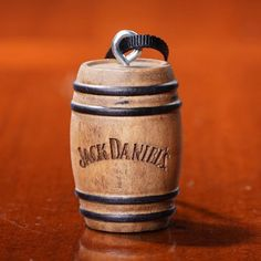 Jack Daniels solid wood edged barrel ornament available at the whiskey cave Jack Daniels Gifts, Jack Daniels Barrel, Jack Daniels Whiskey, Beer Bottle Glasses, White Rabbits, Hole In One, Man, Solid Wood, Old Things