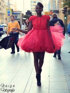 Vestido de Beatriz Peñalver
