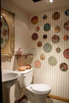 M s de 1000 ideas sobre papel tapiz del ba o en pinterest - Papel vinilico banos ...