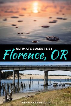 The best things to do in Florence, Oregon! From what to do in downtown Florence, to exploring the Florence Oregon coast, Oregon Coast Roadtrip, Oregon Camping, Oregon Vacation, Oregon Road Trip, Oregon Travel, Travel Usa, Free Travel, Beach Travel, Budget Travel