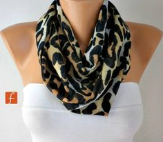 Hey, I found this really awesome Etsy listing at https://www.etsy.com/listing/113716382/on-sale-leopard-scarf-infinity-scarf