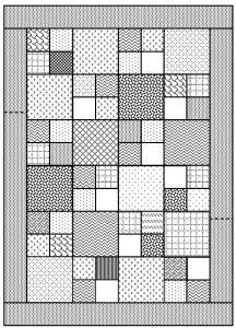Diy Crafts - Scrappy Pavers, All Sizes – AZ Blankets 4 Kids Patchwork Quilt Patterns, Beginner Quilt Patterns, Quilting For Beginners, Scrappy Quilts, Quilt Block Patterns, Easy Quilts, Quilting Tips, Pattern Blocks, Quilting Designs