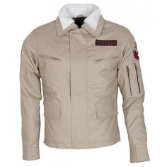 Ghostbusters Outfit Fur Cotton Jacket | http://www.bikerleatherjacketus.com/product/ghostbusters-outfit-fur-cotton-jacket/