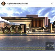 House Architecture Styles, Concept Architecture, Residential Architecture, Architecture Design, House Front Design, Cool House Designs, Bedford House, Modern Villa Design, Casas Containers