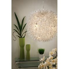 Zuo Modern Contemporary 50027 Warp Pendant Chrome