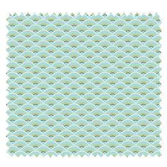 Tissu Koi Imprimé Menthe - Tissus des Ursules