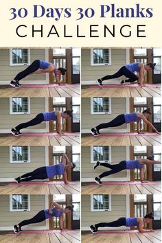 You won't get bored with this 30 day plank challenge that uses a different plank for every day. Strengthen your core in 30 days with this special challenge created with you in mind. This is a great way to stay motivated with the variety found here in 30 planks in 30 days! #plankchallenge #30daychallenge #core #coreworkout #strengthtraining #workoutsforwomen Thigh Challenge, 30 Day Plank Challenge, 30 Tag, Strength Training Workouts, Easy Workouts, Workout Exercises, Getting Bored, Workout For Beginners, Planks
