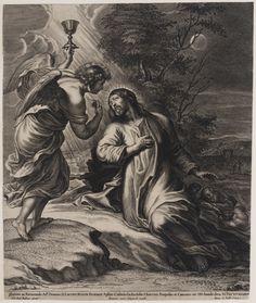 Christus in de Hof van Gethsemane, Pieter de Bailliu, 1660