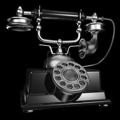 Call the past, vintage telephone Repinned by www.silver-and-grey.com