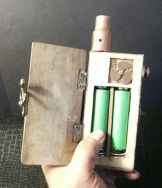 Box Mod Steampunk Style Dual Parellel 18650 Sub Ohm to 0 2 | eBay