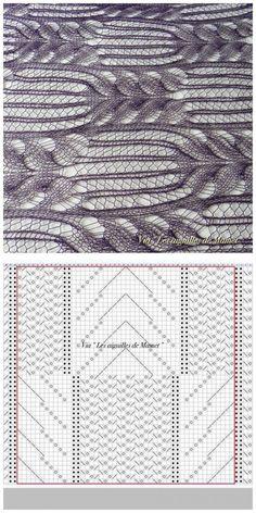 Фотографии, опубликованные Les aiguilles de Mamet - Les aiguilles de Mamet | Вязание спицами. Узоры | Постила