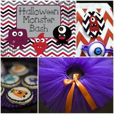 Halloween Monster Bash with Such Cute Ideas via Kara's Party Ideas | KarasPartyIdeas.com #MonsterParty #PartyIdeas #Supplies (2)