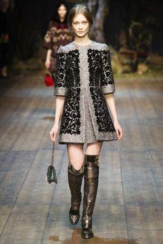 DÉFILÉS PRÊT-À-PORTER AUTOMNE-HIVER 2014-2015  Dolce & Gabbana