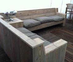 Afbeeldingsresultaat voor loungeset steigerhout