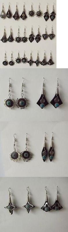 Mixed Lots 64508: Lot Of 80 Pairs Of Bull Horn Earrings. Handmade In Peru BUY IT NOW ONLY: $98.8
