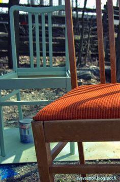 evevaattori: Tyttären uudet tuolit.